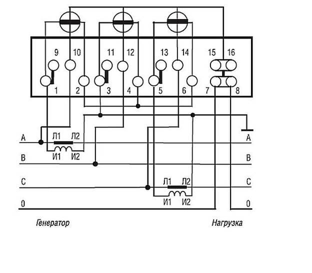 тока Схема подключения 3х
